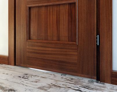 Interior with doors