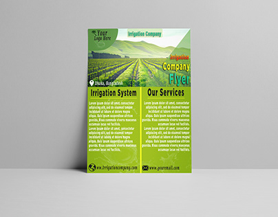 Agriculture Business Flyer