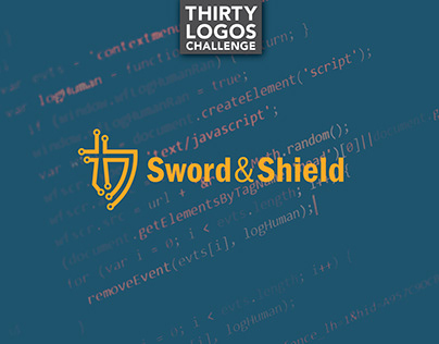 THIRTY LOGOS - DAY 12 - SWORD & SHIELD
