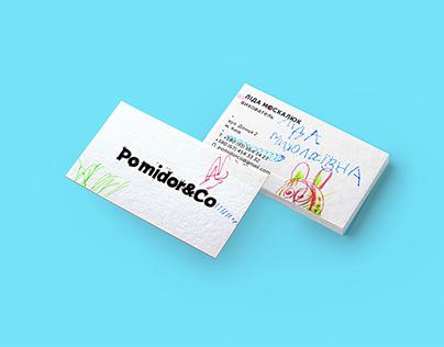 Pomidor&Co — Brand design