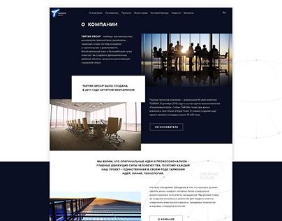 Taryan Group Website