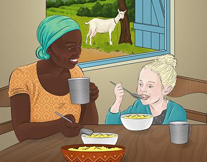 Friendship Tea by Sharon Maida and Lillian Rankel (1/4)