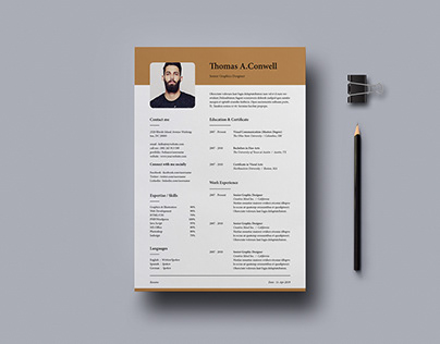 Resume Template Vol-10 [Free]