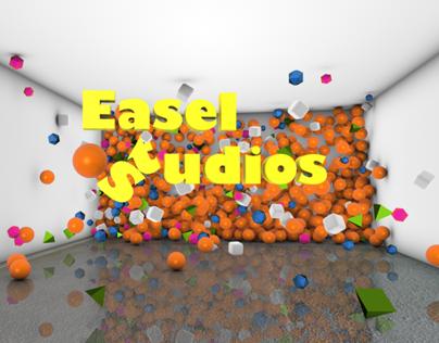 Easel studios Brand Ident