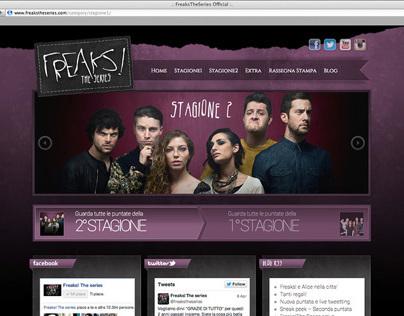 Freaks! The series website