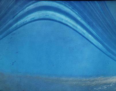 La planète Terre est bleue