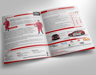Sponsorship offer design