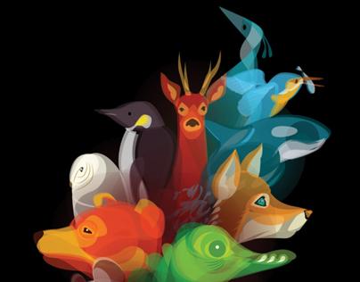 'Fluid Animals' Portfolio