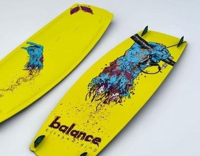 Balance Kiteboard Graphics