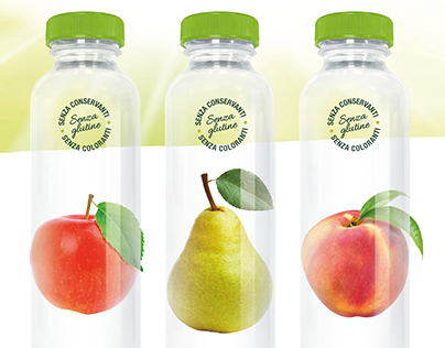 San Benedetto Organic Bio Juice Sales folder and advert