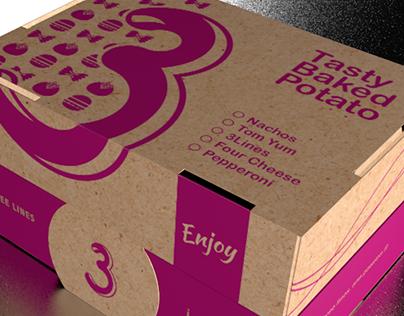 3Line Potato Box