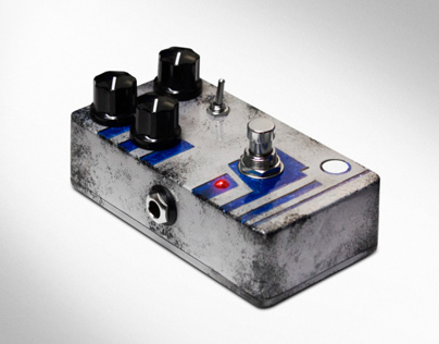"R2-D2 Inspired ""Dirty Droid"" Overdrive Pedal"