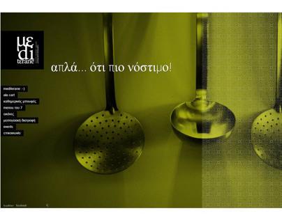 Mediterane Restaurant - Web Design