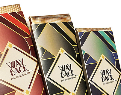 WAYBACK CHOCOLATE BAR (Packaging Design)