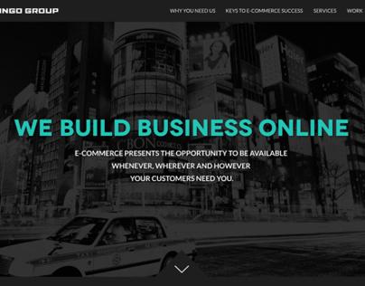 Kongo Group - UX and UI design