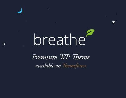 Breathe Wordpress Theme