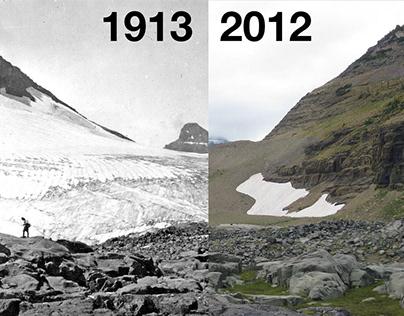 Photo Evidence: Glacier National Park is Melting Away