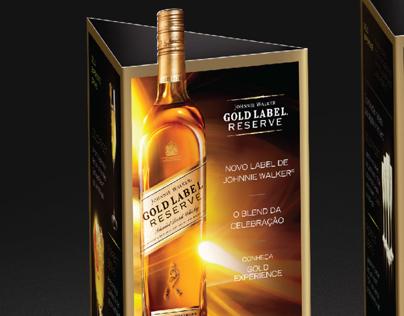 POS - Johnnie Walker Gold Label Reserve