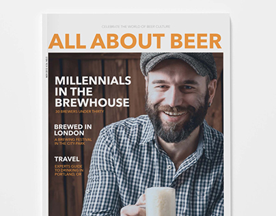 All About Beer, Magazine