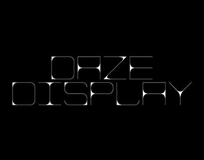 Daze Display