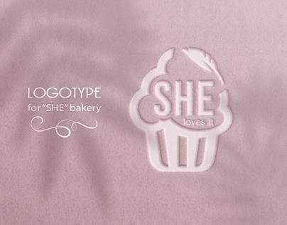 "Logotype ""SHE"""