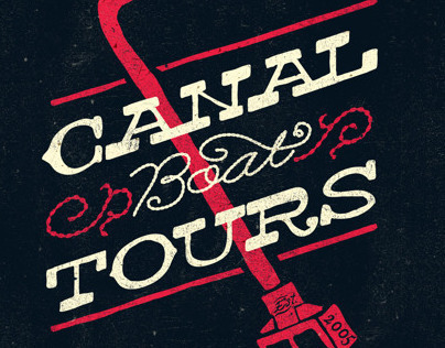 Canal Boat Tours Posters