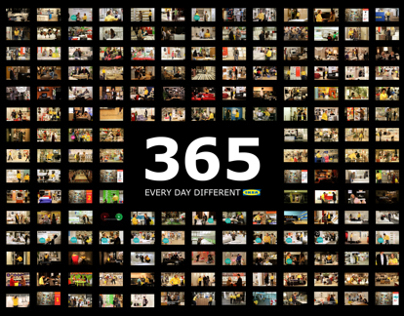 365 Campaign 'Every day different' - IKEA