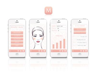 Mary Kay App Design