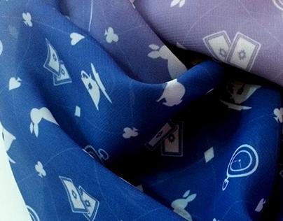 Estampa Alice - Lenço Dealer Clothing