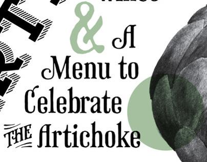 Artichoke Week Poster