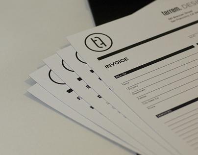 Terrem Design Studio Branding