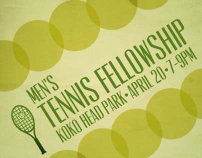 Tennis Fellowship Promo