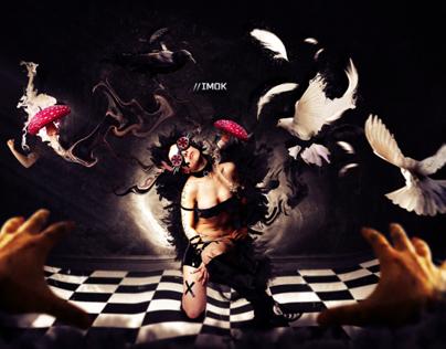 """IMOK"" Photomanipulation by Eddybiel"