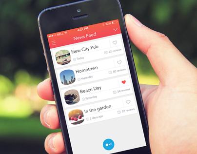 Social Points App Template