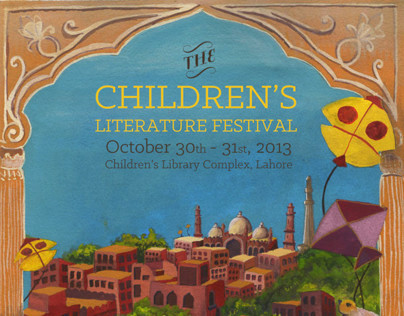 Poster for the Children's Literature Festival