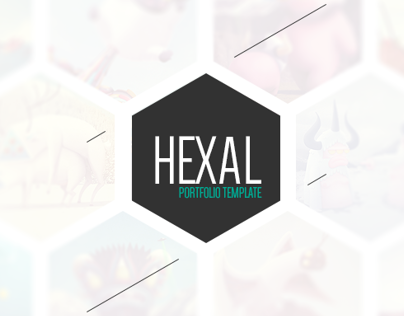 Hexal: Single Page Portfolio Template