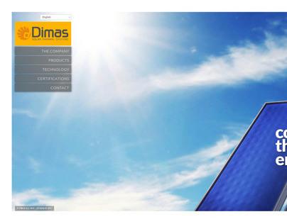 Dimas Solar Industry - Web Design