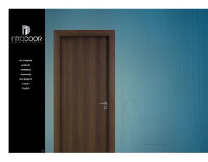 Intradoor Interior Door Industry - Web Design