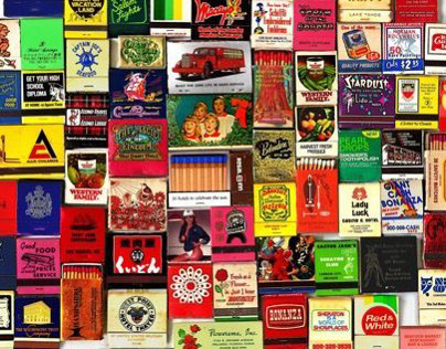 """82 Matchbooks"""