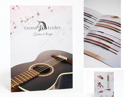 Custom Leather guitar straps catalogue