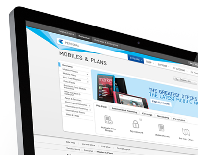 Telstra Website