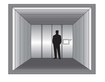 Elevator Interface for 1000 floor building