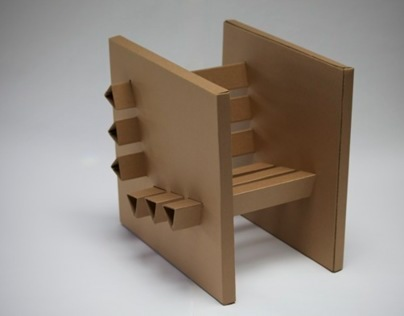 Cardboard Chair on Behance