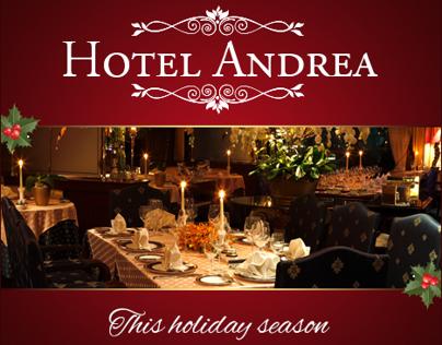 Hotel Andrea Google Christmas Banners