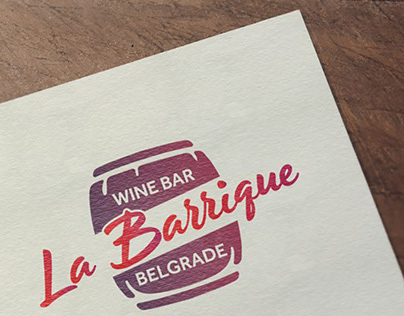 La Barrique Wine Bar Belgrade / Visual Identity