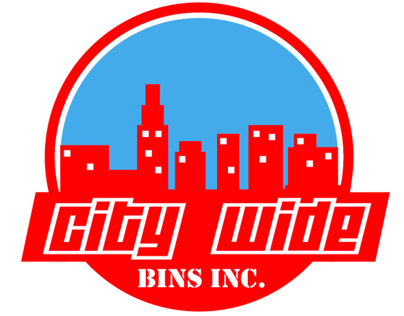 City Wide Bins Inc Logo Design