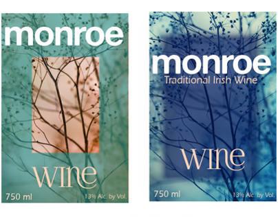 Monroe Wine Labels