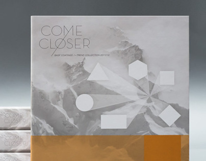 Editorial Design – COME CLOSER