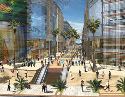 Abdali, Boulevard project -supervision- materials check