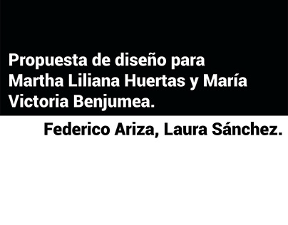 Logos Martha Huertas Victoria Benjumea